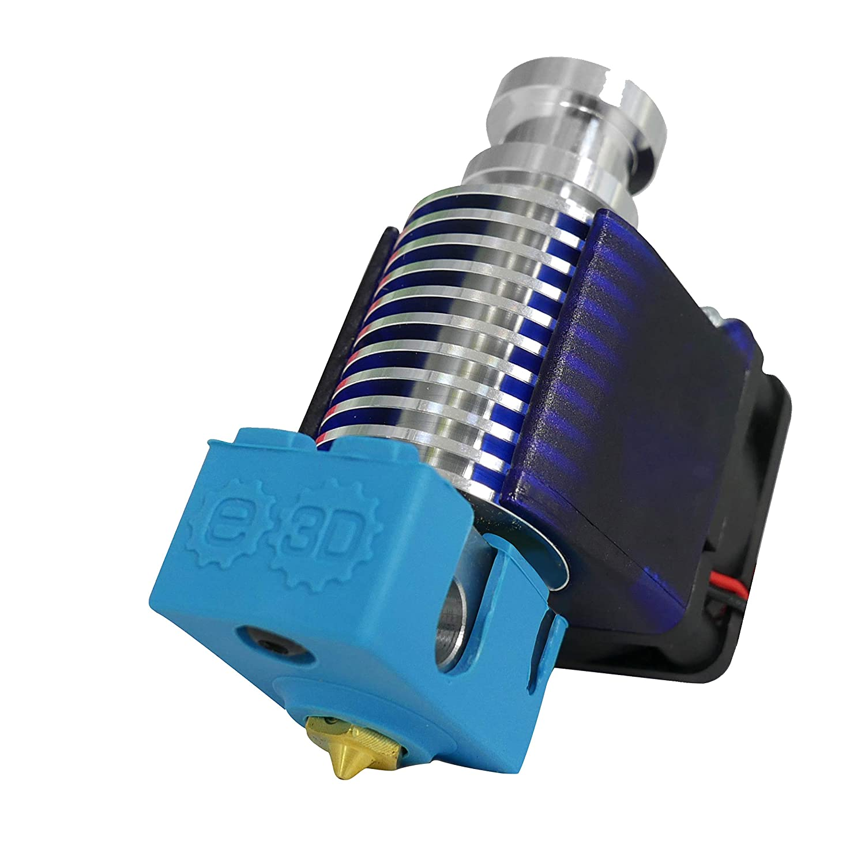 Hotend E3D V6 jest obecnie najpopularniejszym hotendem dla drukarek 3D